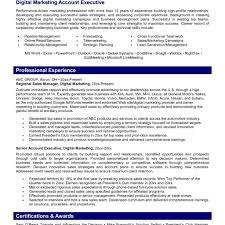 marketing resume format digital marketing resume fotolip rich image and wallpaper inside