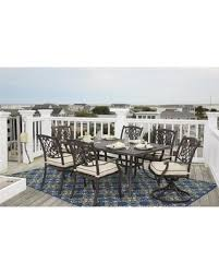 Patio Set With Swivel Chairs Deal Alert Burnella Collection P456rect4c2sc 7 Piece Outdoor