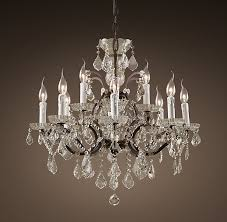 Cheap Chandeliers Under 50 19th C Rococo Iron U0026 Crystal Rh