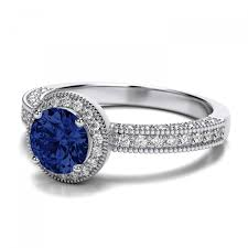 15 best collection vintage sapphire wedding bands