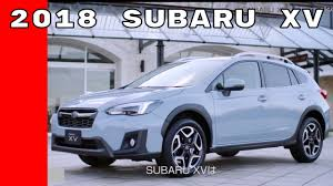 subaru xv 2018 subaru xv features crash test options youtube