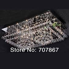 Made In China Crystal Square Chandeliers Crystal Ceiling Big