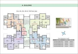 Tenement Floor Plan by 39 Avenue Rr Lunkad Builders And Promoters