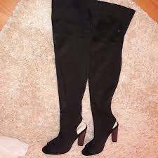 womens thigh high boots size 11 shop 2017 thigh high boots the knee high heel