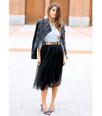 the feminine skirt all the bloggers are wearing whowhatwear