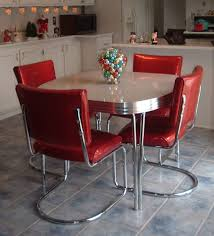 retro kitchen sets family dining leaf table kidkraft red retro