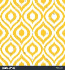 seamless retro background modern ikat pattern stock vector