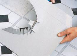 How To Install Tile Around A Bathtub How To Lay Vinyl Floor Tiles Help U0026 Ideas Diy At B U0026q