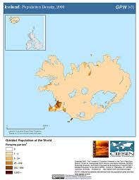 Iceland Map World Maps Gridded Population Of The World Gpw V3 Sedac