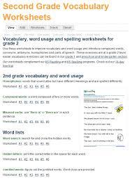 vocabulary worksheets grade 5 worksheets