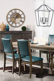 Teal Dining Table Beauteous Best Dining Room Clock Ideas On Grey Dinning Room Teal