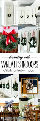 decorating with wreaths indoors it all started with paint