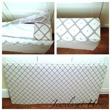 instructions for sewing an cushion cover to make a daybed out of a