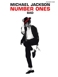 Michael Jackson Bad Album Bad Big Note Piano Sheet Michael Jackson Number Ones Michael