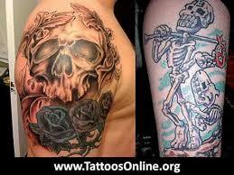 skull tattoos awesome skull tattoos