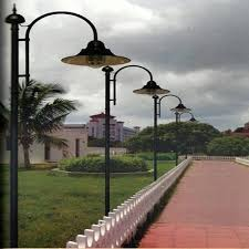 decorative street light poles street light pole decorative light pole manufacturer from chennai