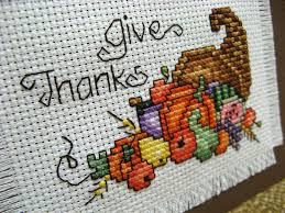 reserved thanksgiving cross stitch give thanks by stitchinmommy