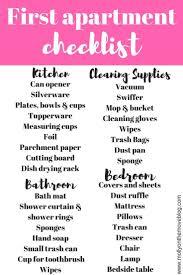 best 25 first home checklist ideas on pinterest first 1st apartment checklist home decor idea weeklywarning me