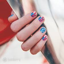 design dolcezza happy birthday usa some patriotic manis for the day