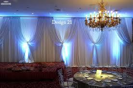 wedding backdrop blue sanimar decor studio