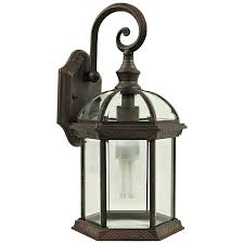 Exterior Wall Sconce Light Fixtures Yosemite Home Décor 5271vb Anita Collection One Light Incandescent