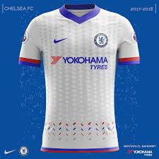 Baju Jersi Nike chelsea nike kits 2017 2018 on behance