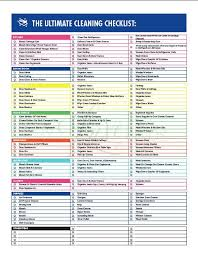 printable house cleaning schedule residential cleaning checklist etame mibawa co