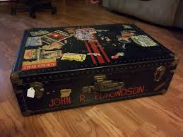 very unique steamer trunk or luggage collectors weekly
