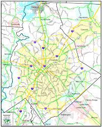 Nc Maps Maps U2013 Mecklenburg County