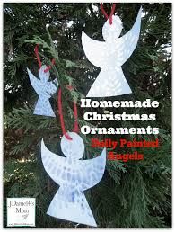 ornaments painted angels