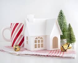diy christmas decorations diy putz village christmas decorations diy christmas putz