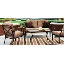 Walmart Patio Conversation Sets Sand Dune Conversation Set Replacement Cushions Garden Winds