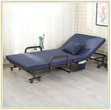 Folding Bed With Mattress Folding Bed With Adjustable Headrest Thick Mattress Folding Bed