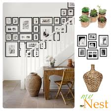 How To Design A Gallery Wall by How To Do A Gallery Wall Staircase Wall Decorating Ideas Mynest