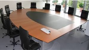Extendable Meeting Table Circon S Class 5x4m Half Elliptical Conference Table For