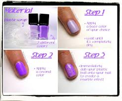 saran wrap nails does this actually work off to dig out that