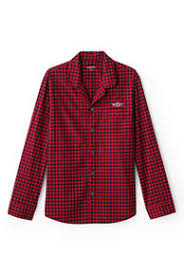 s pajamas flannel more lands end