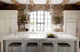 brick backsplash in kitchen 12 astonishing kitchen designs with brick backsplash style