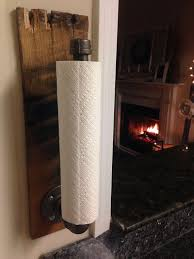 kitchen towel holder ideas rustic industrial towel holder kitchen bathroom accessories