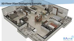 3d Floor Plan by Architectural 3d Floor Plan Design Drafting And Modeling Youtube