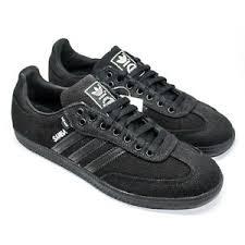 black samba adidas black