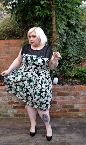 plus size wedding guest lily print midi dress from yours