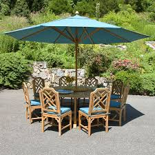 12 Foot Patio Umbrella Teak Patio Umbrellas 12 Ft Octagon Umbrella With Canopy