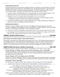 Extracurricular Resume Template Investment Banking Resume Template Berathen Com