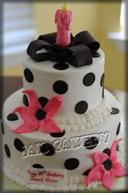 black and white birthday cake j a m cakery