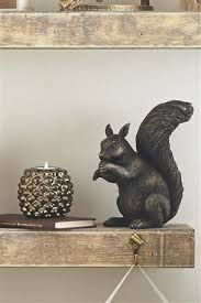 buy resin squirrel ornament from the next uk shop