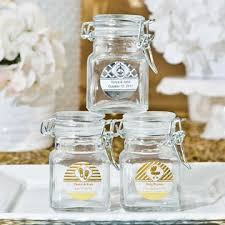 jar favors glass apothecary jar favors personalized favors