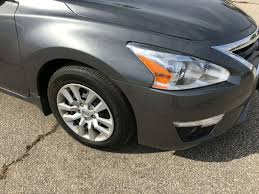 nissan altima 2015 black used 2015 nissan altima one owner accident free trade no