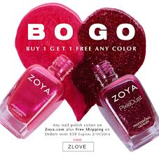 bogo zoya nail polish free shipping offer see mom click