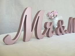 mr mrs sign for wedding table mr and mrs sign set wedding signs set mr and mrs wedding signs